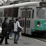 T Green Line cars will close rear doors to passengers trying to sneak a free ride, part of an effort to be fair and save money.