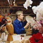 Philip Treacy creates infamous hats for the famous.