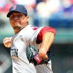 Josh Beckett gave up one run on seven hits in 7 2-3 innings Sunday.