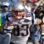 New England Patriot Wes Welker ran against the Buffalo Bills during a Sept., 2011 game.