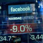 Facebook's stock closed at $34.03, down 11 percent from Friday's closing price.