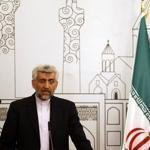Iran's chief negotiator, Saeed Jalili, addressed a news conference Thursday after a meeting in Baghdad.