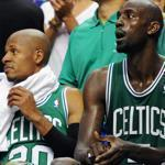 Ray Allen and Kevin Garnett will have two days off before Saturday's Game 7.
