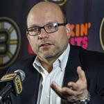 PETER CHIARELLI: The strain was showing