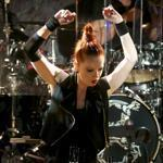 Shirley Manson and Butch Vig were sharp in Garbage's show Saturday at the Paradise.