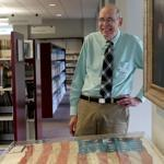 Cary Holmes, a reference librarian at Morse Institute Library, found the World War II record of Alfred DeFlumeri.
