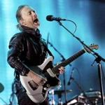 Thom Yorke, pictured performing with Radiohead in Indio, Calif., in 2012.