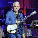 Steve Martin displayed considerable chops on the banjo.