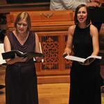 Aston Magna marked its 40th year with Friday's performance at Brandeis of Bach, Monteverdi, Purcell, and Handel.