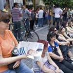 Municipal workers protested austerity measures in Athens on Thursday. Greeks vote in national elections this weekend.