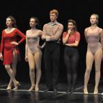 "Cast members of ""A Chorus Line'' at the Reagle Music Theatre."