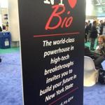 New York tries to lure biotech companies to its state during the BIO conference in Boston.