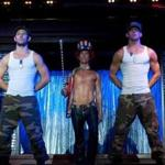 "MatthewMcConaughey (middle) and Channing Tatum (right) star in ""Magic Mike."""