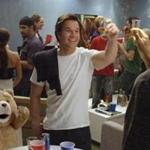 """Ted,"" starring Mark Wahlberg and Seth MacFarlane as the voice of Ted, is not for those who frown on juvenile humor."