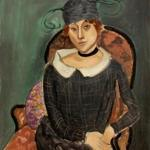 The Ostrich-Feather Hat by Henri Matisse.