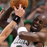 Kevin Garnett has fulfilled his commitment to the Celtics for five years and he says he's ready for three more.