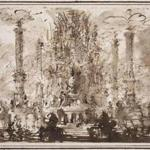 """Fantastic Monument"" by Giovanni Battista Piranesi."