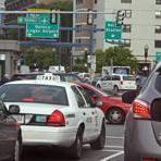 A traffic jam in Boston near the Leverett Circle area (pictured) in this June 7, 2012, file photo.