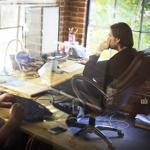 Tristan Jehan, cofounder and chief scientific officer of The Echo Nest, worked in his office on Wednesday.