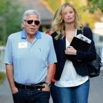 Robert Kraft  and Ricki Noel Lander