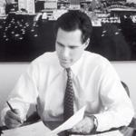 Nine SEC filings submitted by four different business entities after February 1999 describe Romney as Bain boss.