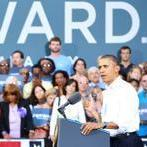 President Obama spoke in Roanoke, Va., Friday. Virginia ranks third among states in which the Obama campaign has spent money on TV ads.