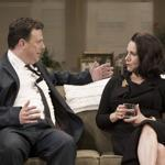 "Susie Essman plays one of the three women pursued by Brooks Ashmanskas's Barney Cashman in Neil Simon's ""Last of the Red Hot Lovers."""