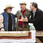 "From left: Miller Gaffney, John Bruno, Bob Richter, and Kevin Bruneau visit flea markets across the nation in search of the perfect find on ""Market Warriors.''"