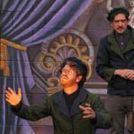 Sean Cote as Guildenstern and Ron Lacey as Rosencrantz.