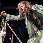 Steven Tyler and his bandmates played before a soldout crowd Tuesday night.