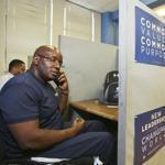 W. D. Foster, a disabled Iraq War veteran, called voters from the Obama Alabama headquarters in Birmingham.