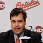 Dan Duquette was fired by Red Sox ownership 10 years ago, but he has returned in Baltimore and may be overseeing the first winning season there since 1997.