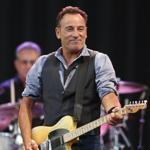 Bruce Springsteen performs Tuesday at Fenway Park.