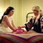 "Lauren Miller (left) and Ari Graynor costar in ""For a Good Time, Call . . .,'' about two friends starting a phone sex company. Miller also co-wrote the script."