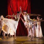 "Members of the Joffrey Ballet perform choreographer Edwaard Liang's ""Age of Innocence"" at Jacob's Pillow."