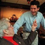 Paul Ryan worked hard at working the crowd in his first campaign, in 1998. He developed a reputation as a political charmer, with what some opponents call a cutthroat political instinct.