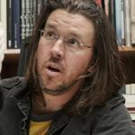 David Foster Wallace (pictured at a Manhattan bookstore in 2006, two years before his death) is the subject of D.T. Max's book.