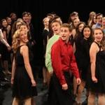 "Contestants from around the country rehearse for the National High School Musical Theater Awards, documented in the TV show ""Broadway or Bust."""