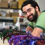 Joseph Schlesinger of Somerville used Kickstarter, a crowdsourcing website, to raise money for his robot-building DIY kits.