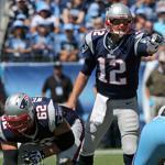 Tom Brady presided over a constantly changing offense in a win over the Titans.