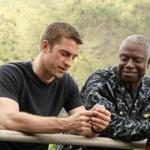 "Scott Speedman (left) and Andre Braugher in a scene from the new series ""Last Resort."""