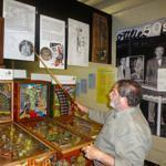 David Silverman, founder of the National Pinball Museum, has collected over 900 machines.