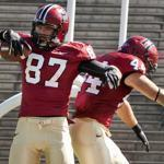 The Harvard Crimson (1-0) kick off their Ivy League slate at Brown next Saturday at 4:30 p.m.