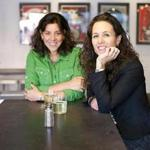 Dana Masterpolo (left) and Michelle da Silva are the founders of Bantam Cider.