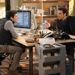 "Michael Urie (left) and David Krumholtz co-star in the new CBS sitcom ""Partners."""