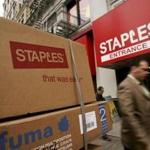 Framingham-based Staples is the largest office-products company.