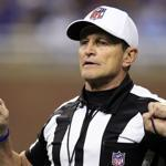Ed Hochuli  and the NFL officials will be back on the gridiron this weekend.