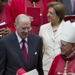 From left, Justices Antonin Scalia, Anthony Kennedy, Elena Kagan, and Stephen Breyer were at the traditional Red Mass on Sunday, a day before the new Supreme Court session.