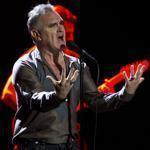 Morrissey performing Friday at the Citi Wang Theatre, the first stop on his US tour.