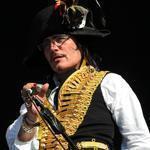 Adam Ant (pictured in London in 2011) performed for almost two hours Monday night at Royale.